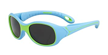 Cébé Kinder Sonnenbrille Flipper, Fresh Green/Grey, CBFLIP26