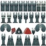 68 x TopsTools FAK68SK Fast Fit OMT Mix Blades for Dewalt Bosch Fein Makita Milwaukee Craftsman Chicago Ridgid Ryobi Rockwell (HyperLock) Porter Cable Multi Tool Accessories
