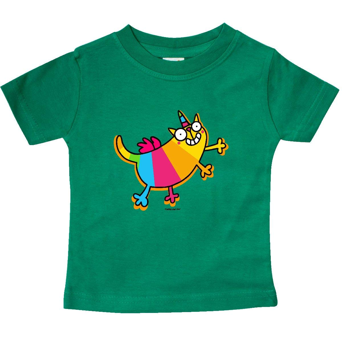 Flossy and Jim inktastic Kittycorn Baby T-Shirt
