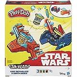 Play-doh Star Wars Luke Skywalker Vs Darth Vader Can Heads by Play-Doh