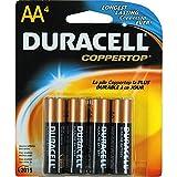 : Duracell Batteries / 4 AA - size batteries