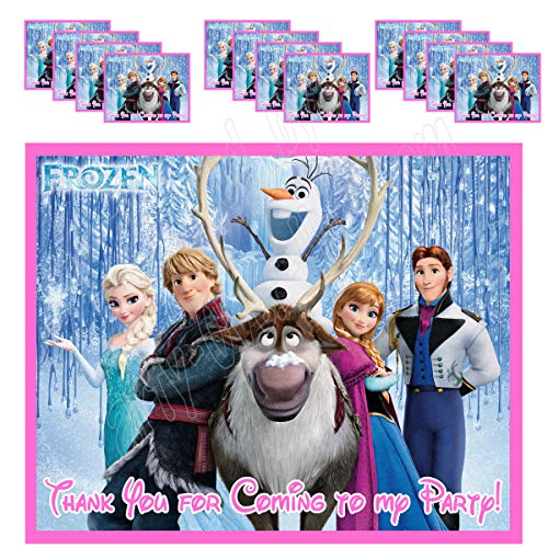 Frozen Stickers Party Favors Supplies Decorations Gift Bag Label Stickers ONLY 3.75