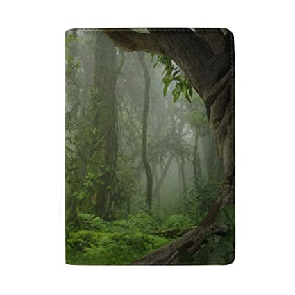 Green Tree Jungle Tapestry Forest Blocking Print Estuche de ...
