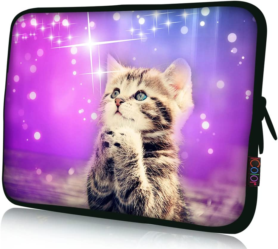 "iColor 12"" Laptop Sleeve Bag 11.6 12.1 12.2 inch Neoprene Notebook Tablet Computer PC Protection Sleeve Cover Case Carrier"