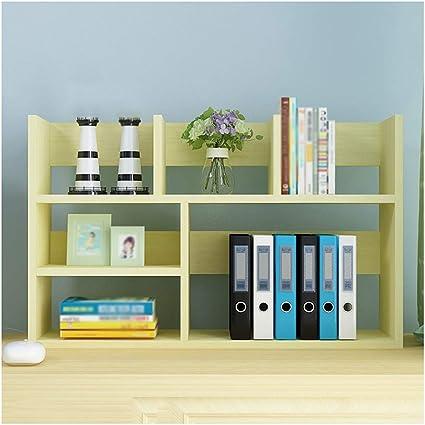 Pengjun Estantería pequeña estantería estanterías Simples ...