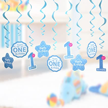 Amazon 1st Birthday Decorations Baby Boys First Birthday