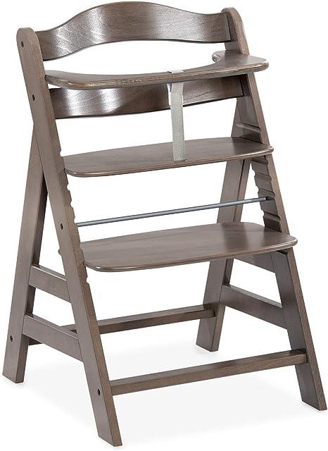 Hauck Alpha trona alta – Trona de madera desde 6 meses, silla alta ...