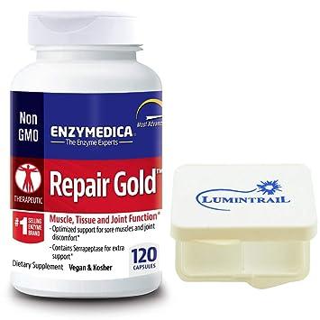 Amazon.com: Enzymedica – Reparación de oro, músculos ...
