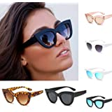 Clearance Sale!OverDose Women Ins Hot Vintage Cat Eye Sunglasses Retro Eyewear Fashion Ladies