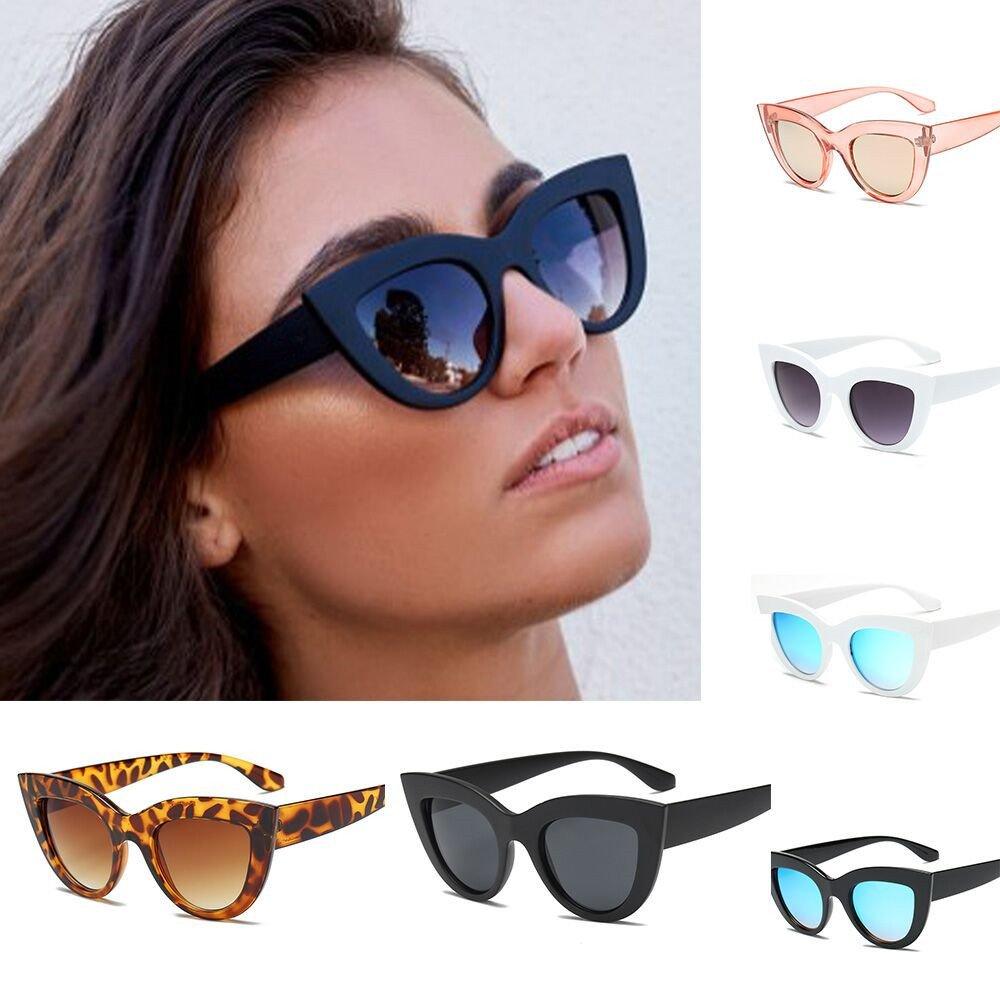 Polarized Sunglasses UV Protection Women Vintage Cat Eye Sunglasses Retro Eyewear Fashion Glasses