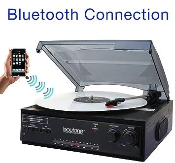 Boytone BT-13B con conexión Bluetooth 3 velocidades estéreo ...