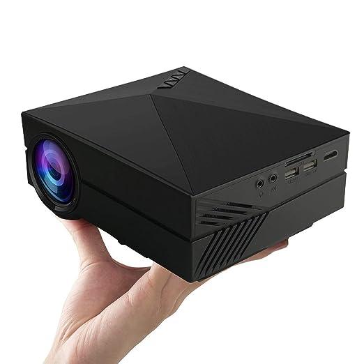 MLL Mini Proyector LED Portátil Proyector Multimedia HDMI VGA USB ...