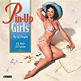 img - for Orange Circle Studio 16-Month 2017 Wall Calendar, Pinup Girls by Gil Elvgren book / textbook / text book