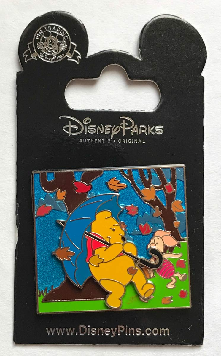 Disney Pin 108597 Pooh and Piglet - Blustery Day Pin Winnie the Pooh