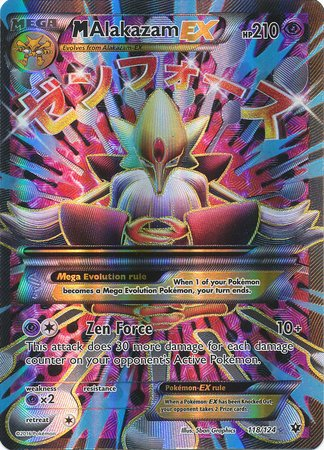 Used, Pokemon - Mega-Alakazam-EX (118/124) - XY Fates Collide for sale  Delivered anywhere in USA