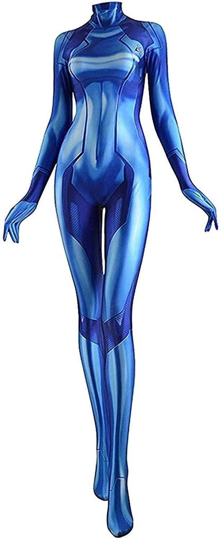 CosplayLife Zero Suit Samus Cosplay Costume | Samus Aran Suit | Metriod Costume | Samus Zero Suit Costume