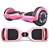 """TPS 6.5"""" Rechargable Hoverboard Electric Self Balancing Scooter with Speaker and LED Lights for Kids and Adults UL2272…"""