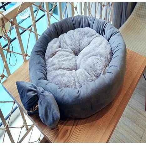 Vivian Inc Beds & Furniture - Design Round Dog Bed Mats Cat Puppy Warm Winter Pet