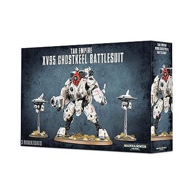 "Games Workshop 99120113059"" Tau Xv95 Ghostkeel Battlesuit Plastic Kit: Toys & Games"