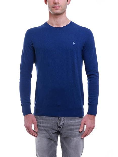 Polo Ralph Lauren A44X777AXY7LM maglione uomo slim fit girocollo ...
