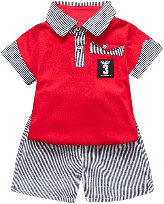 2PC bébé Filles Noeud Floral T-shirt Tops Pantalon Enfants Vêtements Outfit Set