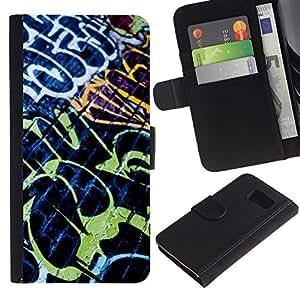 All Phone Most Case / Oferta Especial Cáscara Funda de cuero Monedero Cubierta de proteccion Caso / Wallet Case for Sony Xperia Z3 Compact // Grafiti Street Wall Art Painting Neon Brick