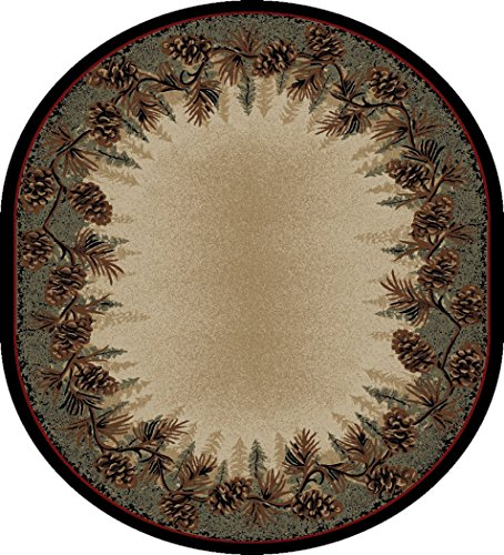 Mayberry Rugs 3823 Rustic Lodge Mount Le Conte Area Rug, 7'10