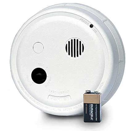 Gentex 9223HF Smoke Alarm, 220V Hardwired Interconnectable Photoelectric w/9V Battery Backup, T3