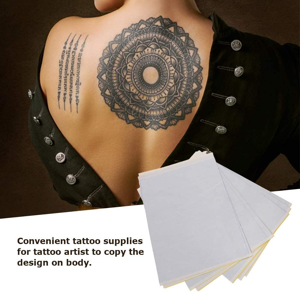 Anself Paper Transfer & Agujas Tatuaje, 25 pcs Papel de ...