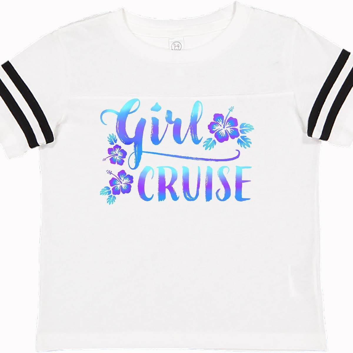 inktastic Girl Cruise with Flowers Toddler T-Shirt