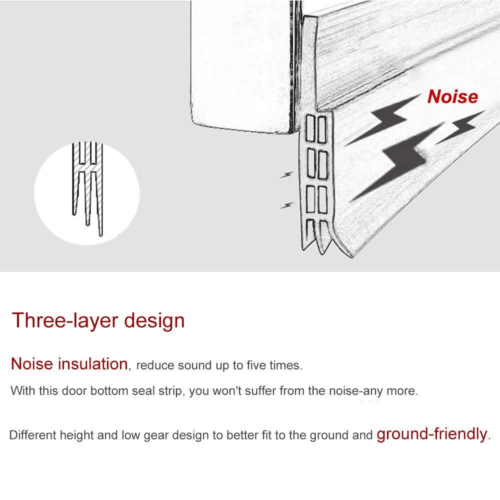 Door Noise Stopper /& Soundproofing Door Weather Stripping Door Draft Stopper Weletric Energy Efficient Door Under Seal