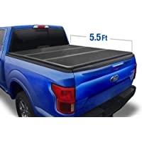 Tyger Auto T5 Alloy Hard Top Tonneau Cover TG-BC5F1016 Works with 2004-2008 Ford F-150 (Excl. 2004 Heritage) 2005-2008 Lincoln Mark LT | Styleside 5.5' Short Bed Black