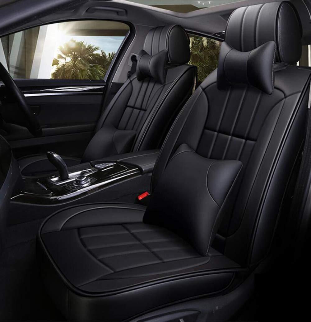HRFHLHY Housse pour si/ège de Voiture 5 Places Avant et arri/ère Compatible avec Les s/éries Ford: Escort Fiesta Eso Sport,Beige,Edge Kuga Edge Taurus Mondeo Focus