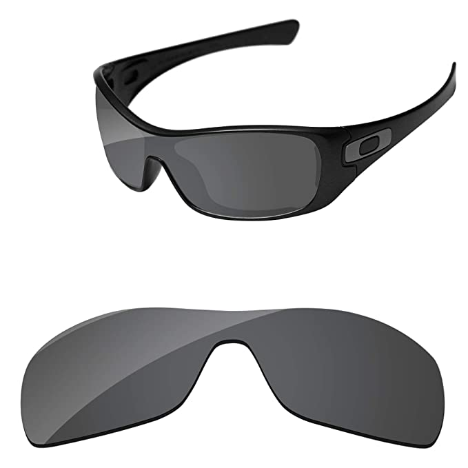 48f7d585997 Amazon.com  PapaViva Lenses Replacement for Oakley Antix Black Grey ...