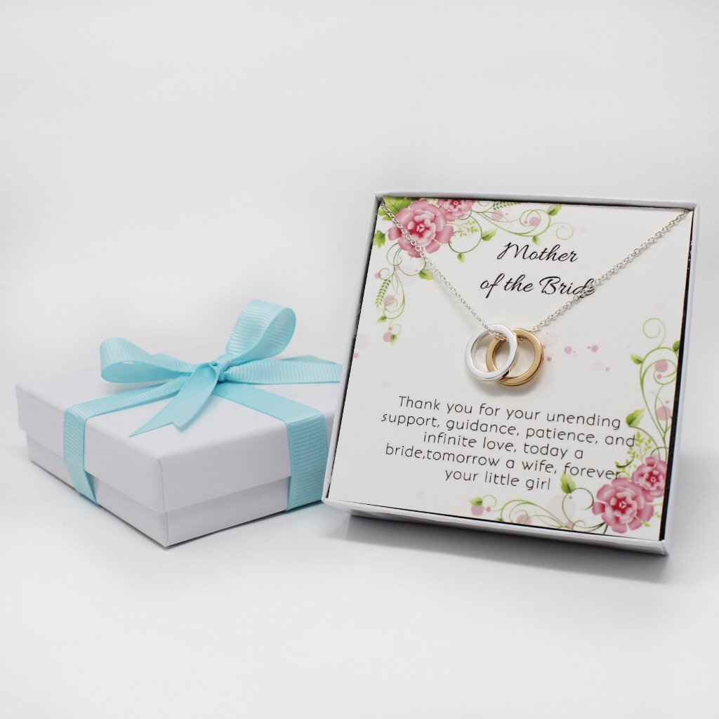 OnePurpose Mother of the Bride/Groom Gifts (Gold/Silver Bride) by OnePurposeGifts (Image #3)