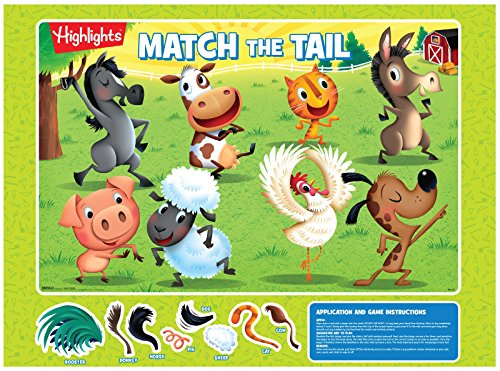 Summer Puzzle Party Supplies - Pin the Tail Game (Pin The Tail On The Pony)