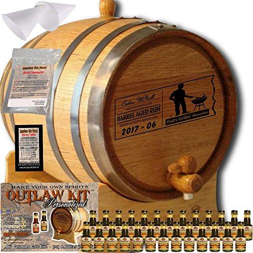 5 gallon oak wine barrel - 8