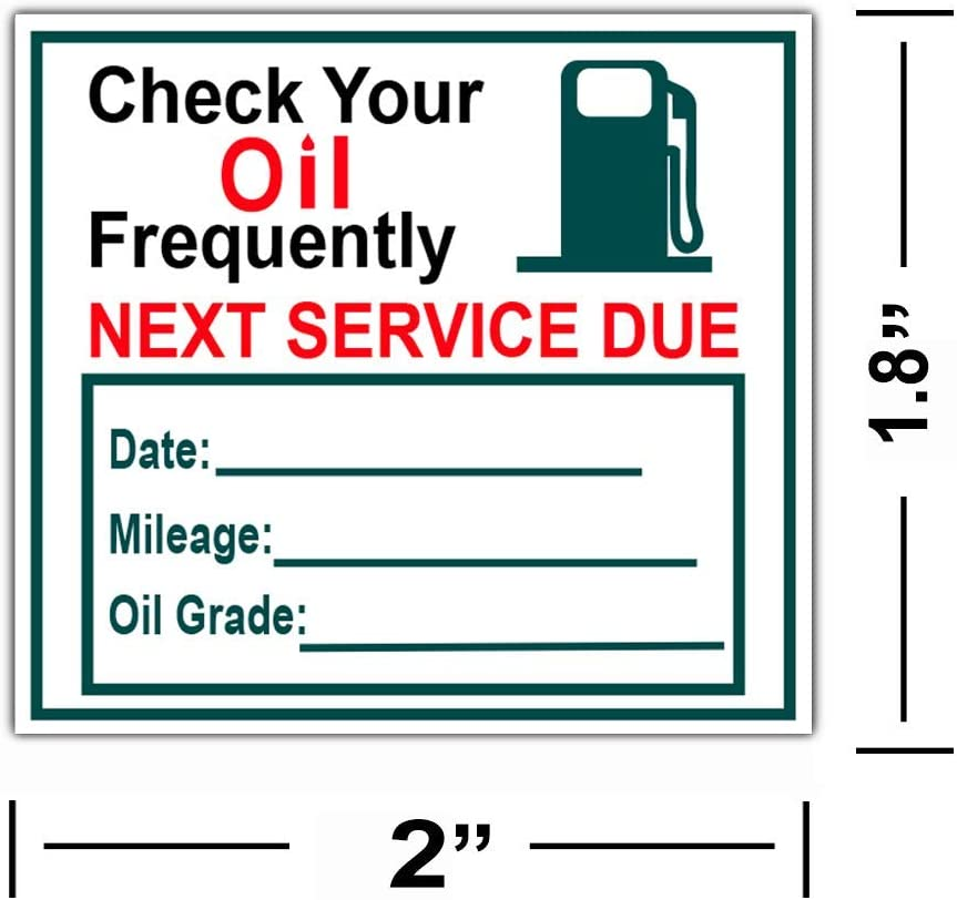 54inx36in Decal Sticker Multiple Sizes Free Oil Change with Tune-Up #2 Automotive Tune up Outdoor Store Sign White Set of 2