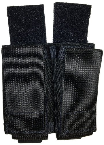 Tactical Tailor (10073LW-2) Fight Light Magna Double Pistol Mag Pouch, Black (Best Gun Magazine For Reading)