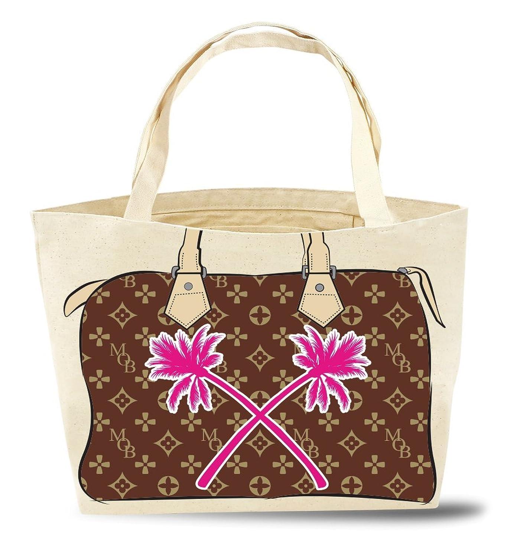My Other Bag(マイアザーバック)オーガニックコットン キャリーオール/ Zoey / Tonal Browns + Palms B06XPDCDJK