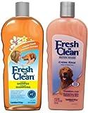 Fresh 'N Clean Classic Shampoo & Creme Rinse Bundle: (1) Fresh 'N Clean Classic Fresh Scented Shampoo, and (1) Fresh 'N Clean Classic Fresh Scented Creme Rinse, 18 Oz. Ea.z.)
