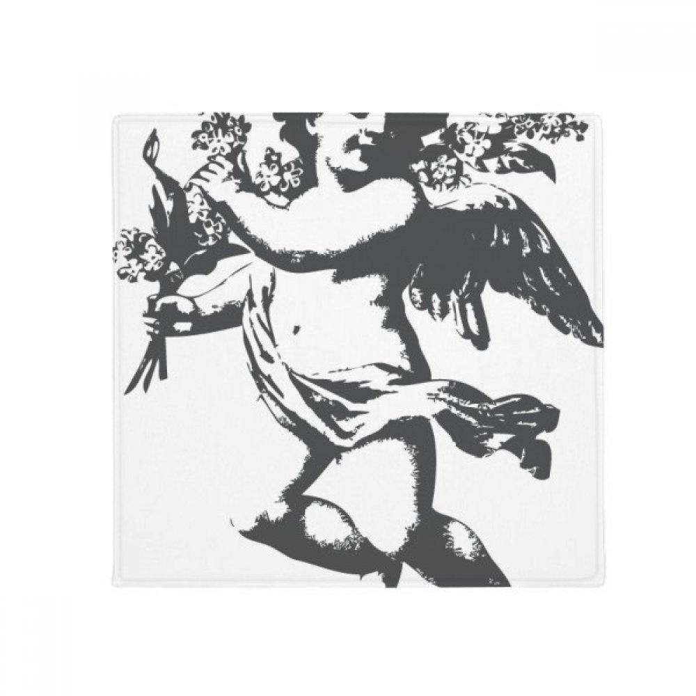 DIYthinker Baroque Angle Modern Illustration Pattern Anti-Slip Floor Pet Mat Square Home Kitchen Door 80Cm Gift