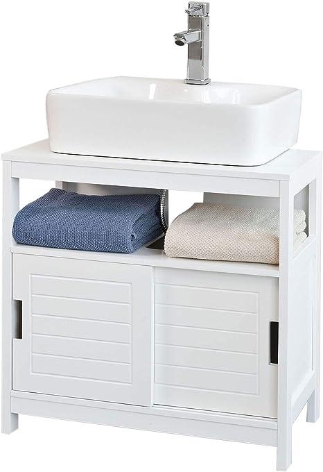 SoBuy Mueble para Debajo del Lavabo,Armario de Baño de Suelo,1 ...