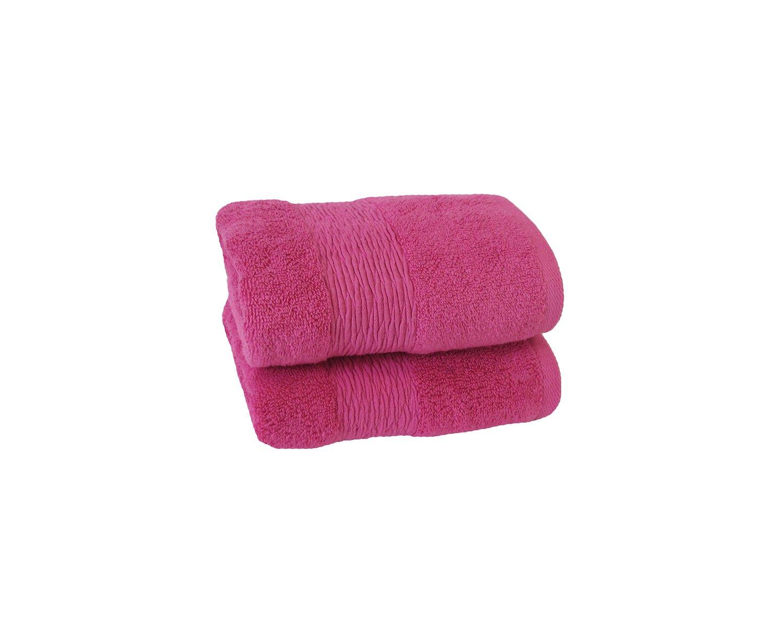 Jessica Simpson 2 Pack Solid Hand Towel Oyster Grey Feroze HX08192OGJS