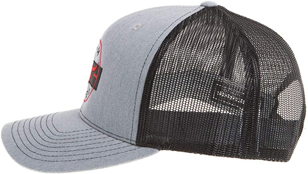 NRS Mens Team Grey//Red Black Mesh Logo Cap OS Heather