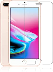Maxdara iPhone 8 Plus Front and Back Tempered Glass Screen Protector, Ultra Thin Touch Accurate Anti Scratch Screen Protector Case Friendly Screen Protector for iPhone 8 Plus 5.5 inches (2 Pack)
