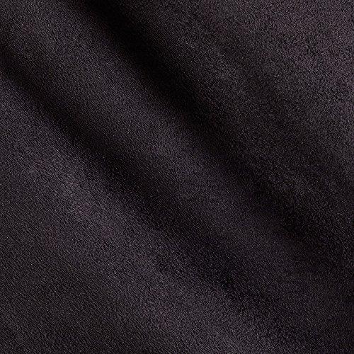 Shannon Fabrics Shannon Cuddle Suede Black, (Suede Micro Black Fabric)