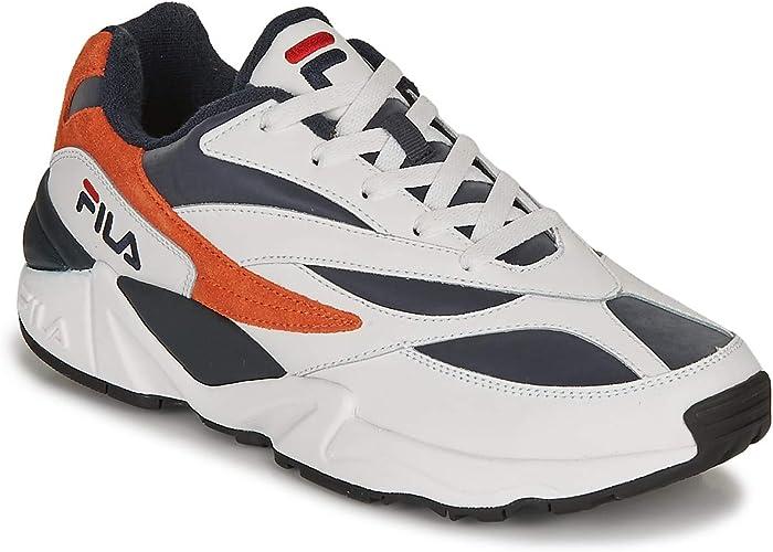 Fila V94M R Low Sneakers Uomini BiancoArancio Sneakers