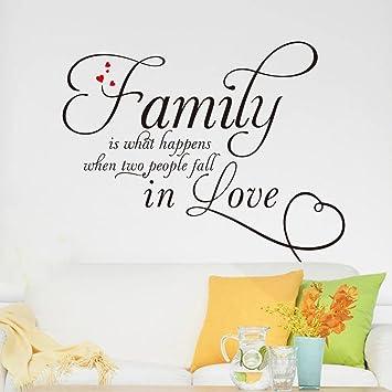 sprüche familie englisch Winhappyhome Familie Englisch SprüChe Wandaufkleber für Wohnzimmer  sprüche familie englisch