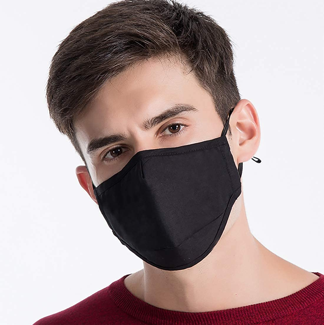 Rarmycus 1+10 Reusable Mouth Cover Adult Unisex and 15 Years Old and Up